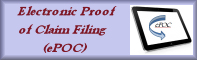 File ePOC (Electronic Proof of Claims in LIVE database)